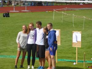 Junior NM friidrett Sigdal 2012
